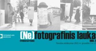 """Paroda """"(Ne)fotografinis laukas. 1988–1995"""""""