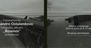 "A. OSTAŠENKOVO FOTOGRAFIJŲ ALBUMAS ""BŪSENOS"""